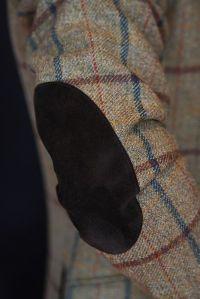 Tweed Elbow Patch Jacket